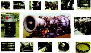 Общий вид двигателя и отдельных узлов, деталей при дефектации на ремонтном предприятии
